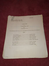 Father Knows Best original Radio Script #18 - Christmas Story - December 22 1949