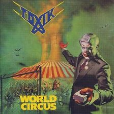 World Circus by Toxik CD ROADRUNNER 1987 ORIGINAL