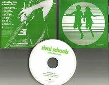 Civ Quicksand RIVAL SCHOOLS United By Fate RARE 2001 ADVNCE PROMO DJ CD USA 2001