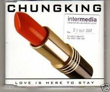 (F617) Chung King, Love is Here to Stay - DJ CD