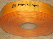 Veuve Clicquot Champagne Fabric Ribbon Length 50M Decoration 4 Clicquot Lovers