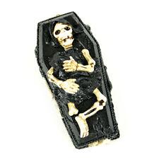 Miniature Dollhouse Fairy Garden - Skeleton Casket - Accessories