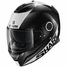 Cascos talla M de motocicleta fibra de carbono para conductores