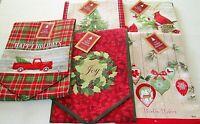 "CHRISTMAS TABLE RUNNER ASSORTMENT #1 13"" X 72"" {Your choice}"