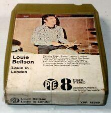 ⭐️ 8-track 8 track tape cassette cartridge LOUIE BELLSON LOUIE IN LONDON JAZZ