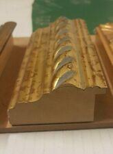 Cornice in legno ORO per quadri,Foto,stampe,poster -LAR.CM 7.5 ALT.3.3 BAT.2.4