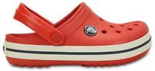 Scarpe Sandali rosso in gomma per bambini dai 2 ai 16 anni