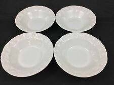 "Quadrifoglio Franco Giorgi Roses 4 10 1/2"" Vegetable Serving Pasta Bowls Lot 1"