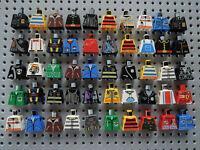 Lego 50 x Figur: Torso Jacke Oberkörper 973 City System Space Piraten Town  OK2