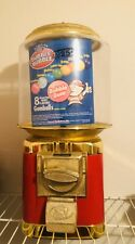 Vintage 25 Cent Vending Machine Candy Gumball with Key