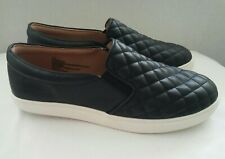 Women's Black/Reese Quilted Sneakers A New Day Slip-on Shoes Sz 12 W