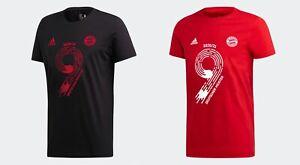 adidas FC Bayern München Deutscher Meister 2021 T-Shirt Damen Herren Kinder