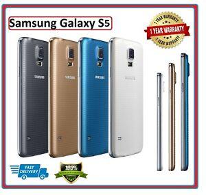 Samsung Galaxy S5 SM-G900 SIM FREE Smartphone Mobile Phone 16GB Unlocked