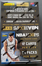Panini NBA Hoops Hobby Basketball Box NBA OVP Sealed 2015-16 9 Hits!!