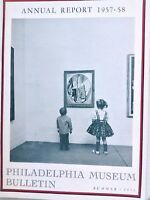 Philadelphia Museum Of Art Magazine Annual Report Summer 1958 092617nonrh