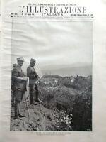 L'illustrazione Italiana 27 Agosto 1916 WW1 Battaglia Gorizia Rosso San Secondo