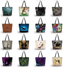 Fashion Ladies Womens Large Foldable Tote Shoulder Shopping School Bag Handbag