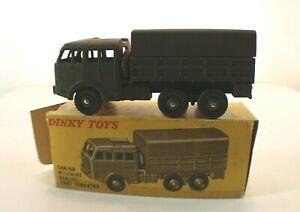 Dinky Toys F n° 80D BERLIET camion militaire tous terrains en boite jamais joué