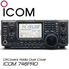 ICOM IC-746 PRO HAM RADIO DUST COVER  ICOM LOGO APPROVAL DXCOVERS