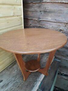 mid century circular coffee table g-plan style