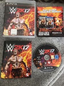 WWE 2K17 PS3 PLAYSTATION 3 Rare Sony Game