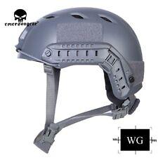 Emerson BJ Type Tactical Fast Helmet Advanced Adjustment Head Size w/ Side Rail