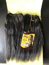 100% Yaki Human Hair Extension(COLOUR 2/ DARK BROWN)