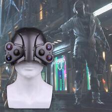Game Cyberpunk 2077 LED Helmet Cosplay Cyberpunk MAX-TAC the Psycho Squad Helmet