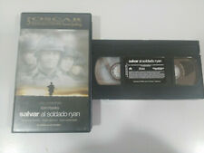 Salvar al Soldado Ryan Tom Hanks Steven Spielberg VHS Tape castellano