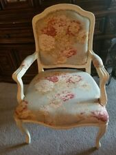 accent chair/. French Louis style/ 3 available. local pick up only! No shipping!