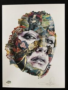 SANDRA CHEVRIER Pencil Signed CAGES Numbered LIMITED EDITION Punisher LA CAGE