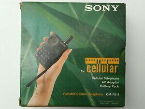 SONY CM-R111 Vintage Portable Cellular Mobile Telephone. BNIB. 1993
