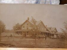 RP. Axton NY. Forrester's  Inn. C 1908. Adirondacks