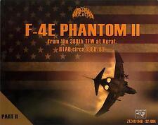 Zotz Decals 1/32 MCDONNELL DOUGLAS F-4E PHANTOM II 388th TFW Korat RTAB Part 2