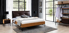 3 PC Complete Set Wood Bedroom Loft Style Design Bed Chest Cabinet New