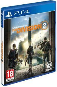 The Division 2 PS4 Pal España Nuevo Precintado en castellano envio gratis FISICO