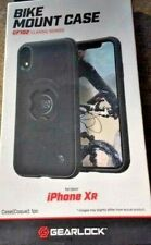 Gearlock iPhone XR Bike Mount Black Case CF102 Classic Series