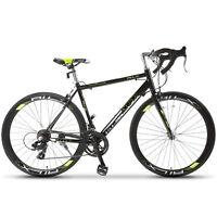 Racing Bicycle Shimano 700C X 54C Road Bike 14 Speed Aluminum Frame Steel Fork