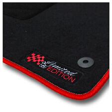 Auto-Fußmatten Limited Red für Kia Ceed JD 2012 - 2018 Automatten Autoteppiche