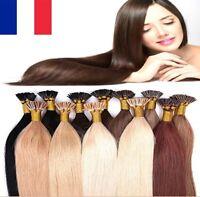 50,100, 150, 200 EXTENSIONS DE CHEVEUX POSE A CHAUD 100% NATURELS REMY HAIR NAIL