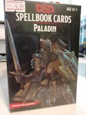 Dungeons and Dragons D&D Spellbook Cards Paladin New