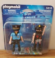 Playmobil, 5816, Police Pack, retired item, duel figure set, toy, new and sealed