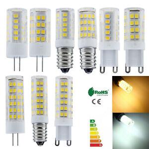 Cerámica LED Maíz Bombilla G4 G9 E14 5W 8W 12W Cápsula Cristal Luz 220V Luz Hl