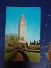louisiana state capitol baton rouge USA  postcard