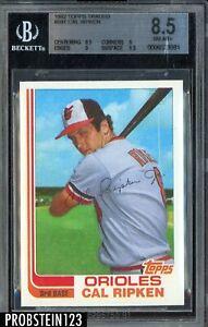 1982 Topps Traded #98T Cal Ripken Jr. Baltimore Orioles RC Rookie HOF BGS 8.5