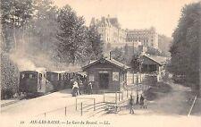 Aix-Les-Bains France La Gare du Revard Train Station Antique Postcard (J27844)