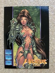 1996 Witchblade Top Cow Wizard Magazine Promo Card