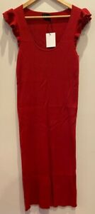 Hatch Maternity Mama  Dress  Size 3 (L) CHIC Modern Red The Chloe Dress