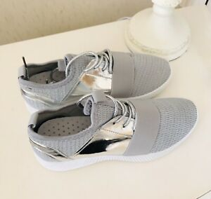 Ladies Silver Sneakers By Glossybox
