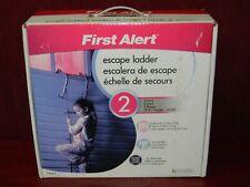 First Alert 2 Story Escape Ladder New, Open box 14 ft.